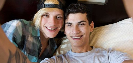 Home Made Twinks - Justin Cross And Kayden Alexander