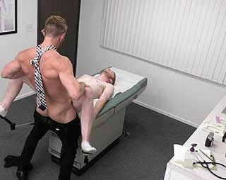 When Sebastian Hunt visits Dr. Johnny Ford, he says he's there for a sexual activity check up. After a very thorough examination, Dr. Ford tells Sebastian that he's levels of testosterone are low...