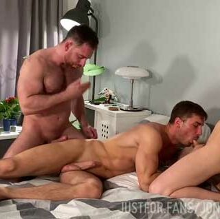 Josh Collins with another muscle stud, but ends up being the bottom bitch! I like to go somewhere warm when winter arrives. I hate cold weather.
